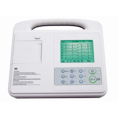 Digital Single Channel ECG Machine ECG-1201A Plus