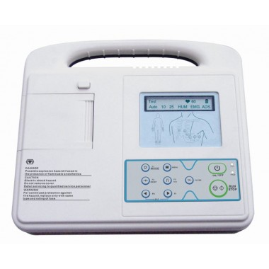 Digital Single Channel ECG Machine ECG-1201A