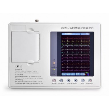Digital Three channel ECG machine ECG-1203B Plus