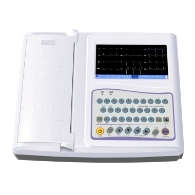 Digital Twelve channel ECG machine ECG-1212B